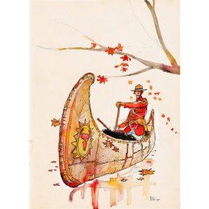 cartolina postale di Hugo pratt