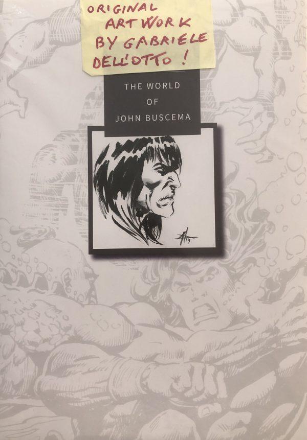 Conan Disegno Oiginale Gabriele dell'Otto