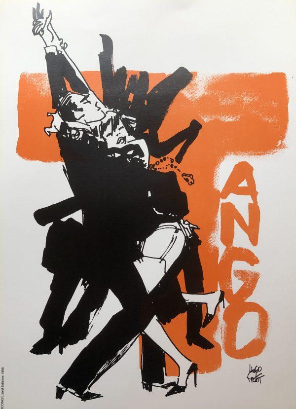 poster copertina di Tango