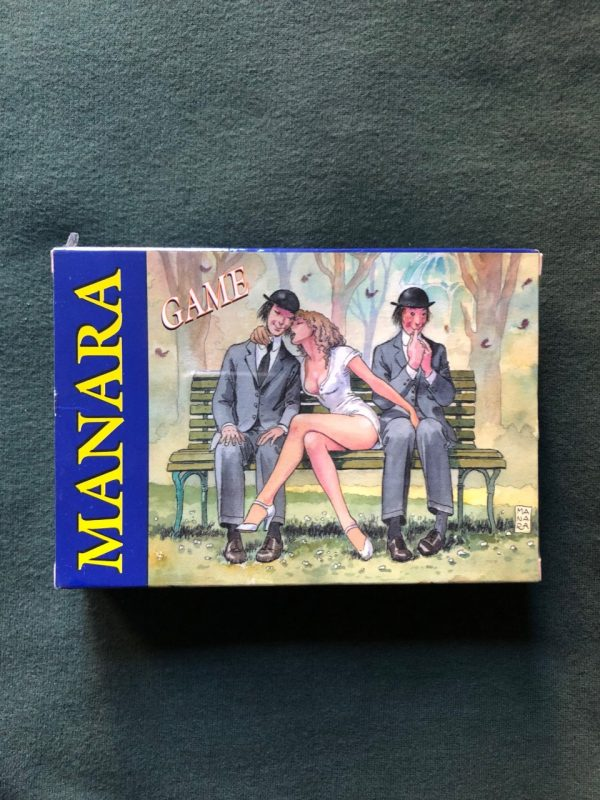 Carte da gioco di Milo Manara
