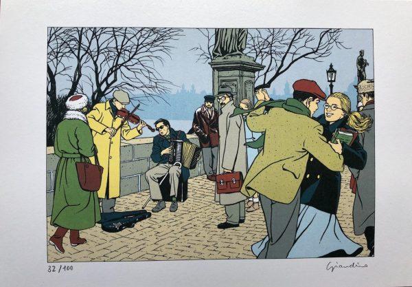 """Portfolio di Jonas Fink """"Cartoline da Praga"""""""