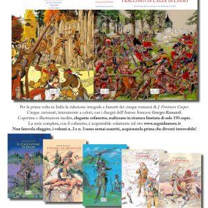 Serie completa in 5 volumi di Georges Ramaioli con cofanetto raccoglitore