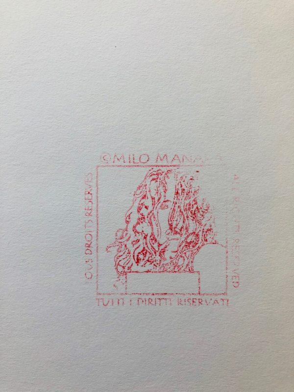 Stampa di Milo Manara firmata - n.1