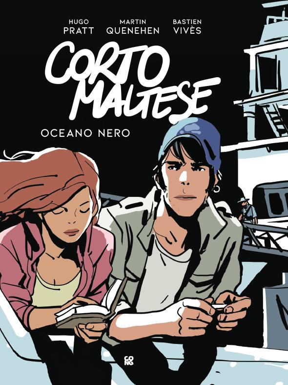 "Corto Maltese ""Oceano Nero"" di Bastien Vivès"